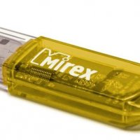 Флэш-диск Mirex 16GB Elf желтый