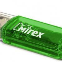 Флэш-диск Mirex 16GB Elf зеленый