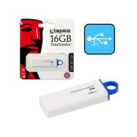 Флэш-диск Kingston 32GB USB 3.0 Data Traveler G4 белый