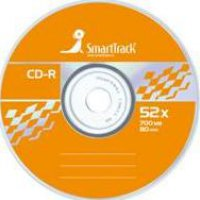 Диск CD-R SmartTrack 52x Cake box (10/200)