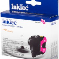 Картридж INKTEC BROTHER LC1100/980/67/65/61/38 для DCP-145C/ 385C/ 585CW/ 6690CW, MFC-250C/ 290C/ 790CW/ 5490CN/ 6490CN/ 6890CDW magenta