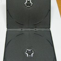 DVD-box HDH 7mm (на 2 диска половина горизонтальная)(200)